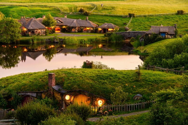 Hobbiton Movie Set 2
