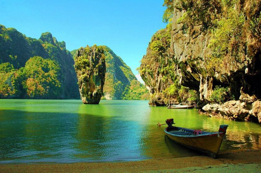 Phang Nga Phuket Thailand, cocok bangetuntuk berbulan madu